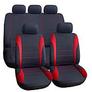 אוטו אוניברסלי אדום / כחול / אפור כיסוי מושב ואביזרים