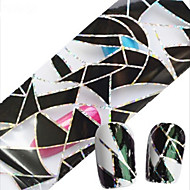 1pcs 100cmx4cm glitter nail folije naljepnica seksi čipka lubanja cvjetni noktiju Ukrasi DIY beauty stzxk11-15