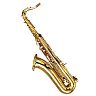 tenor efterligning gyldne drop b maling guld shell tenor sax