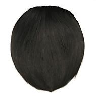 wig czarny 8cm wysokotemperaturowy styl nóż drut grzywka kolor 4005