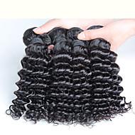 מלזיה שיער רמי שזירה Remy  משיער אנושי Water Wave שוזרת שיער אנושי רמי
