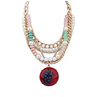 Collier Anniversaire / Mariage / Cadeau / Sorée / Quotidien / Occasion spéciale Imitation de perle / AcryliqueImitation de perle /