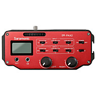 SR-PAX2 אדום 9V Battery מיקרופון סטודיו