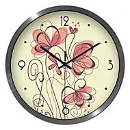 Personality Creative Color Painting Living Room Bedroom Silent Quartz Wall Clock