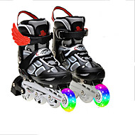 Unisex Athletic Shoes Motorcycle Boots Rubber Hook & Loop Black / Blue / Pink / Red Skate Shoes