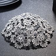 Dam Strass / Legering Headpiece-Bröllop / Speciellt Tillfälle Hattar 1 st.