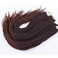 Szenegál Twist Zsinór Póthajak 22 inch Kanekalon 20 roots /pack Part 100g gramm Hair Zsinór