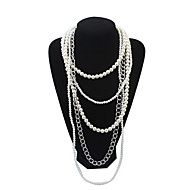 Fashion Atmosphere Multilayer Pearl Necklace