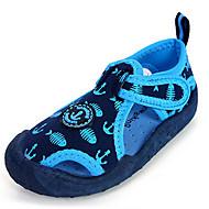 Boys' Shoes Casual Canvas Sandals Summer Comfort / Open Toe Hook & Loop Blue