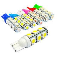 jiawen 10pcs/lot T10  1.6W 13X5050SMD 135LM for Car Light Bulb (DC12V)