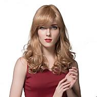 nemes hosszú hullámú paróka emberi haj a nők kiváló minőségű emberi paróka