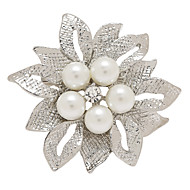 fashion vysoce kvalitní brož kytice svatební perlový květinové brože špendlíky a pro ženy