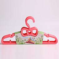 1PC 28*15*1CM Lovely Bowknot Baby Plastic Hangers (Random Color)