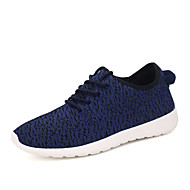 Running Shoes Men's Spring / Fall Tulle Casual Flat Heel Others Black / Blue / Red / Gray / Coral Sneaker
