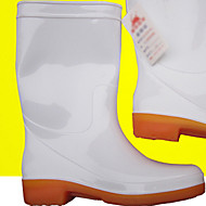 Unisex Boots Spring / Summer / Fall / Winter Round Toe Rubber Casual Chunky Heel Others White Walking