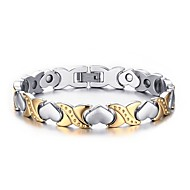 New Fashion Crystal Jewelry Full Magnetic Health Care Elements 316L Stainless Steel Bracelet For Women
