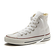 Dames Sneakers Lente / Zomer / Herfst / Winter Ronde neus Canvas Buiten / Sport / Informeel Platte hak VetersZwart / Rood / Wit / Beige /