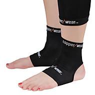 Tornozeleira Apoio Sports Respirável / Leve / Stretchy / Protecção Fitness / Corrida Preta
