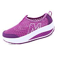 Tasapohjakengät-Tasapohja-Naisten kengät-Tyll-Musta / Sininen / Violetti / Harmaa / Tummanpunainen-Rento-Comfort