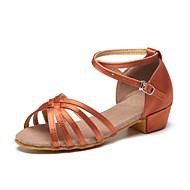 Sapatos de Dança(Marrom) -Infantil-Personalizável-Latina