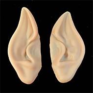 pvc tündér tündér hamis elf fülei halloween maszk új párt maszk ijesztő halloween dekoráció puha hegyes fülek protézis