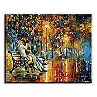 Lover Hand Painted Oil Painting Wall Art Home Decor For Living Room with Stretched Frame Ready to Hang