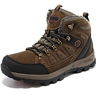 Women's Shoes Suede Spring / Fall / Winter Comfort Athletic Shoes Lace-up Brown Hiking