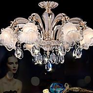 3 Lustres ,  Contemprâneo / Retro Dourado Característica for Cristal / LED CristalSala de Estar / Quarto / Sala de Jantar / Quarto de