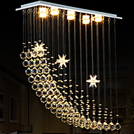 Led 4 Watt Csillárok ,  Modern/kortárs Galvanizált Funkció for Kristály / LED Fém Nappali szoba / Hálószoba / Étkező / Konyha