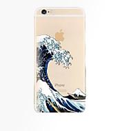 用途 iPhone X iPhone 8 iPhone 8 Plus iPhone 6 iPhone 6 Plus ケース カバー クリア バックカバー ケース 風景 ソフト TPU のために iPhone X iPhone 8 Plus iPhone 8 iPhone