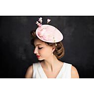 Women's Lace / Net Headpiece-Special Occasion Fascinators 1 Piece Clear