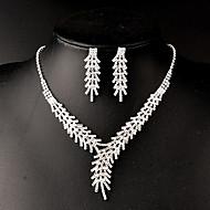 Ensemble de bijoux Femme Anniversaire / Mariage / Cadeau / Sorée / Quotidien / Occasion spéciale Parures Stras CristalColliers décoratifs