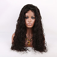 EVAWIGS 150% high density 24Inch Brazilian Human Hair Wig Full Lace Wig Natural Wave Full Lace Wig