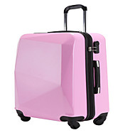 Unisex PVC Outdoor Luggage Pink / Red / Black
