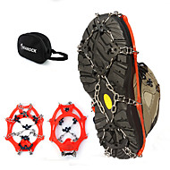 Hai yan outdoor 18 crampons antiskid 18 snow tooth crampons mountaineering