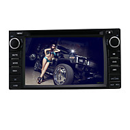 6.2-inch 2 Din TFT Screen In-Dash Car DVD Player For Toyota With Bluetooth,Navigation-Ready GPS,RDS