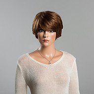 New Arrival Youthful Short Layered Straight Capless Human Hair Wig