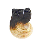 "Ombre Hair Extension Body Wave Human Hair 8"" 4pieces/lot #1B/27 Hair Weaves"