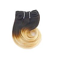Ombre Włosy indyjskie Falowana 3 miesiące 4 elementy sploty włosów