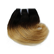 Menschenhaar spinnt Brasilianisches Haar Wellen 6 Monate 1 Stück Haar webt