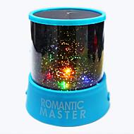 1pc Batterie stochastische Muster Nachtlicht Lampe Haus Projektor-Lampen Sternenhimmel brillante Nachtlicht