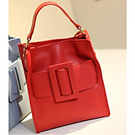 Women PU Casual Tote Pink / Yellow / Red / Gray / Black