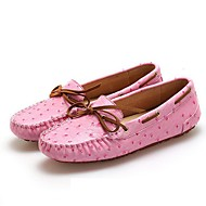 Women's Shoes Synthetic Flat Heel Snow Boots/Boat Flats/Loafers/Boat Shoes Office & Career/Casual Pink /White