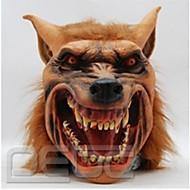 halloween latex maska strašidelné vlčí hlava zvíře maska halloween cosplay kostým pro dospělé stran masky klesnout