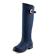 Women's Shoes Fleece Spring / Fall / Winter Fashion Boots Boots Outdoor / Party & Evening / Casual Low Heel