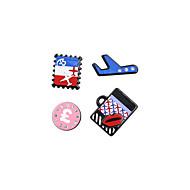 Fashion Women Cute Travelling Set Pin Brooch Set