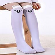 dívčí ponožky&punčochy, all seasons bavlna černá / bílá