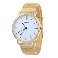 New Silver Casual Geneva QuartzFashion  Watch Women Metal Mesh Stainless Steel Dress Watches Relogio Feminino Clock Cool Watches Unique Watches