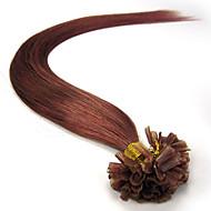 Fusion Prebond Keratin Nail Hair Extension U Shape Indian Virgin Remy Hair 100S Tangle Free, No Shedding in stock