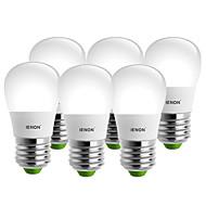 5W E26/E27 Круглые LED лампы S14 8 SMD 400-450 lm Тёплый белый / Холодный белый Декоративная AC 100-240 V 6 шт.